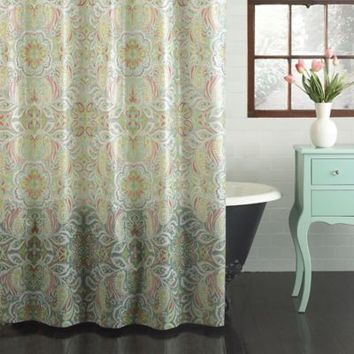 Croscill® PEVA Isla Shower Curtain