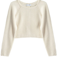 Ryan Roche - Ivory Ribbed Cardigan | BONA DRAG