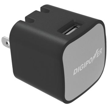 DIGIPOWER(R) IS-AC2 InstaSense(TM) 2.4-Amp Single-USB Wall Charger