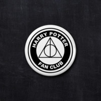 Harry Potter fan club button