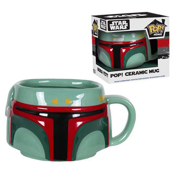 Star Wars Boba Fett Pop Home Mug