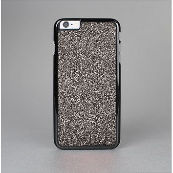 The Black Glitter Ultra Metallic Skin-Sert for the Apple iPhone 6 Skin-Sert Case
