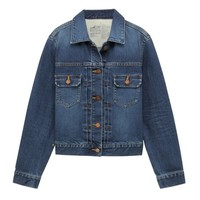 Women Organic Cotton Stretch Denim Jacket