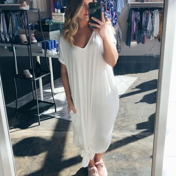 Harlow Maxi Dress In Ivory