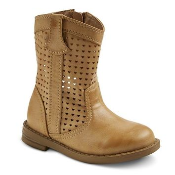 Toddler Girl's Cherokee® Dalina Fashion Boots - Tan