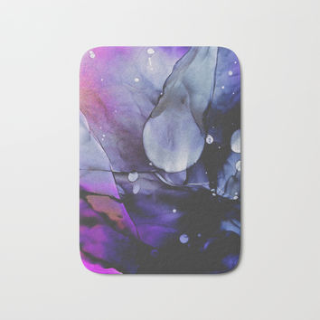 A Violet Gaze Bath Mat by duckyb