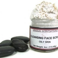 Sensual Scentsations : Cleansing Face Scrub Oily Skin [cfs001] - $9.75