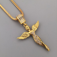 Gift New Arrival Stylish Jewelry Shiny Fashion Hip-hop Club Necklace [6542775683]