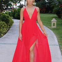 Giovanna Gown - Red