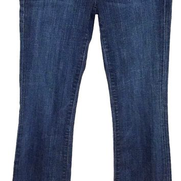 Adriano Goldschmied AG The Club Flare Jeans Dark Wash Women 26 x 33 Actual 27x33 - Preowned