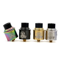 Apocalypse GEN 2 RDA Atomizer With Wide Bore Drip Tip 24mm vaporizer 4 Colors Fit 510 E Cigarette box mod