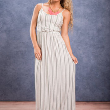 Leave It To Me Maxi Dress, Ivory
