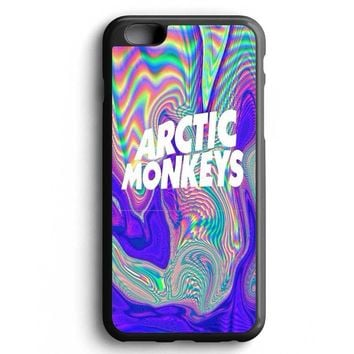 Custom Case Arctic Monkey Hologram Texture for iPhone Case & Samsung Case
