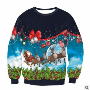 UGLY CHRISTMAS SWEATER - Jingle Bell Bling