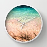 SEA AND TREE Wall Clock by catspaws