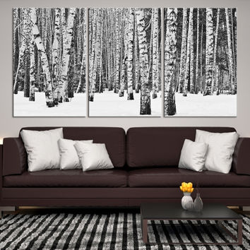 53765 - Forest Wall Art- Autumn Canvas Print- Forest Canvas- Forest Canvas Art- National Art Print- Canvas Print- Large Wall Art-