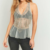Kimchi Blue Alexia Embellished Tank Top - Urban Outfitters