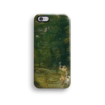 Boho forest iPhone 6 case, iPhone 6 Plus case S302