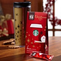 Starbucks Via 2014 Christmas Blend Ready Brew Instant Coffee 12 pk