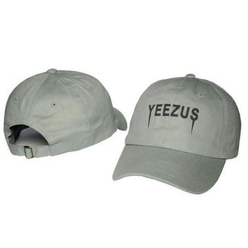 2016 Yeezus Cap Men Polo Hat 100% Cotton Chapeau Strapback Snapback Fitted Hats Adjust