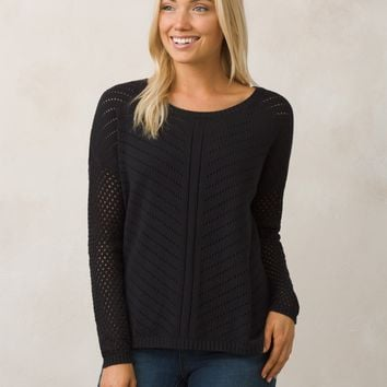 Black Crew Neck Sweater Women's Ponchos Women's Capes, Sweaters, Cowl Neck, Cardigan Sweaters!