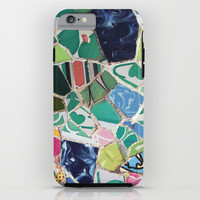 Tiling with pattern 6 iPhone & iPod Case by Lucie