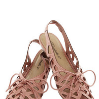 I'd Lovesome Sandal in Rose | Mod Retro Vintage Sandals | ModCloth.com