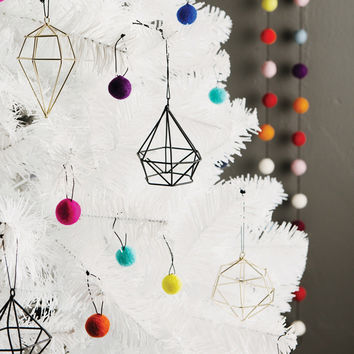 Down To The Woods | Diamond Gold Christmas Decoration