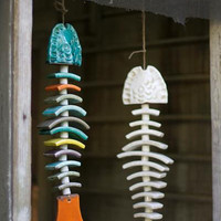 Ceramic Fish Chime