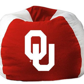 "Oklahoma Sooners NCAA 102"" Bean Bag Chair"