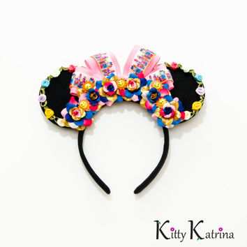 It's a Small World Mouse Ears Headband, Its a Small World, Disney Bound, Disneyland, Disney World, Disney Ears, Minnie Ears, Mickey Ears