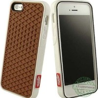 Vans Waffle Sole Sneaker Shoe Tread White Case Rubber Skin For Apple Iphone 5:Amazon:Cell Phones & Accessories