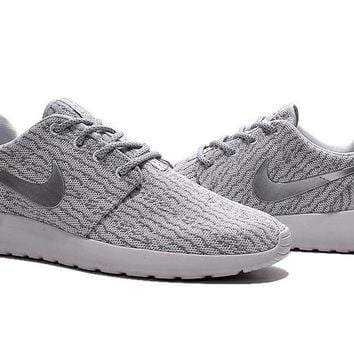 """""""Nike Roshe One x Yeezy 350 Boost"""" Men Sport Casual Flywire Sneakers Running Shoes"""