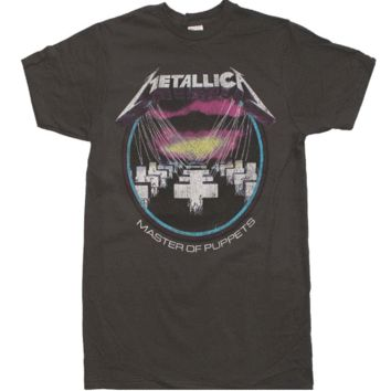 Metallica Master of Puppets Vintage T-Shirt