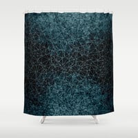 Polygonal A4 Shower Curtain by VanessaGF