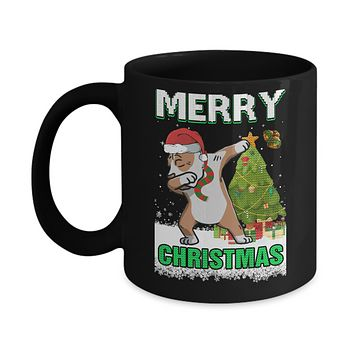 Cute Pit bull Claus Merry Christmas Ugly Sweater Mug
