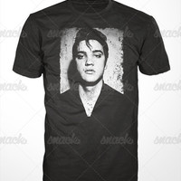 Elvis Presley T-Shirt - the king tshirt, rock and roll tee shirt, vintage music, mens womens gift, memphis tennessee, r&b, blues, graceland