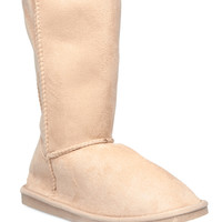 Cozy Fuzzy Lined Boots | Wet Seal