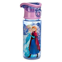 Disney Frozen Anna & Elsa Snowflakes 12 Oz. Water Bottle