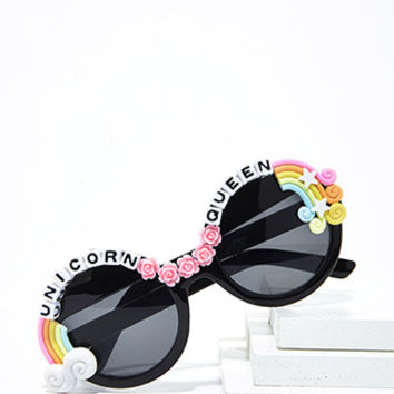 Rad & Refined Unicorn Queen Sunglasses