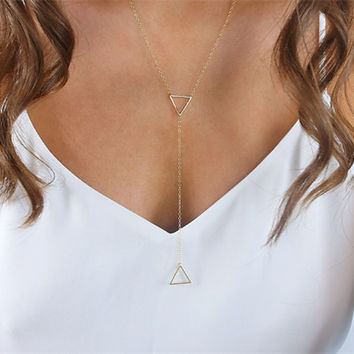 Gift Jewelry Stylish Shiny New Arrival Accessory Simple Design Hollow Out Metal Necklace [7316488007]