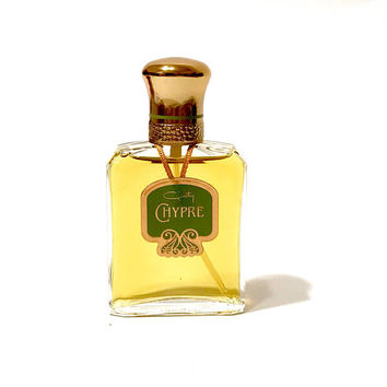Coty Chypre Eau De Toilette, Spray Bottle, 1.75 Fluid Ounces, Vintage 1980s, Rare Collectible Perfume, Woodsy Floral, Unused, Gift For Her