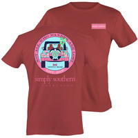 Simply Southern Preppy Wander Jeep Turtle T-Shirt