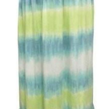 Clearance Sweet as Sugar Couture Summer Sky Halter Maxi Dress