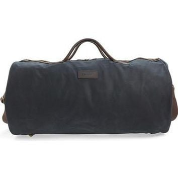 Waxed Canvas Duffel Bag