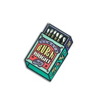 Burn Bright Matches Enamel Pin