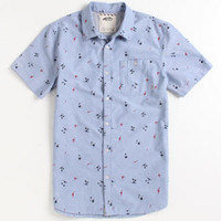 Vans Palm And Bolts Short Sleeve Woven Shirt at PacSun.com