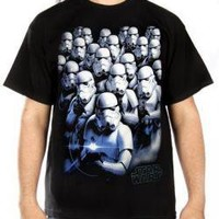 ROCKWORLDEAST - Star Wars, T-Shirt, Cool Blue Storm