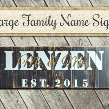 Outdoor Cabin Sign | Family Established Wood Sign | Personalized Home Sign | Family Personalized Sign | Family Wall Sign | Farmhouse Decor