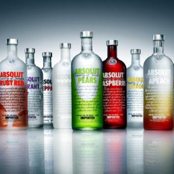 Vodka Poster Bottle Display 24inx36in